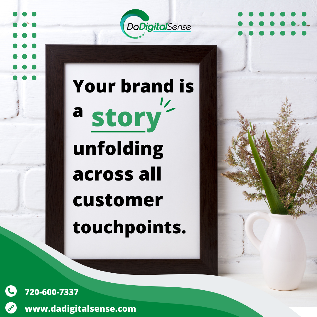 quote- your brand is a story